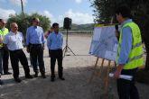 Fomento pone en servicio la nueva glorieta en la intersección de la carretera N-344 con el Camino de Almansa, en Jumilla