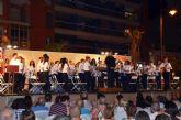 La banda de música 'Cartagonova' cierra este domingo la tercera edición de los veranos musicales