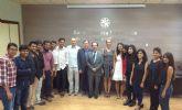UPCT despide a alumnos indios