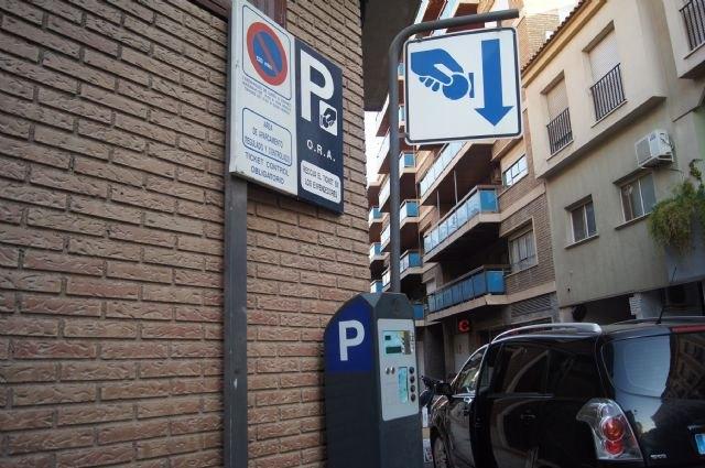 El servicio de estacionamiento de la ORA estará exento de pago durante todo el mes de agosto
