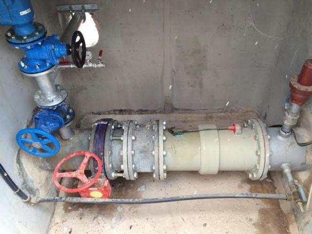 Entra en funcionamiento la nueva conexión que va a solucionar los problemas de abastecimiento a los usuarios que suministra el depósito de Virgen de las Huertas - 2, Foto 2
