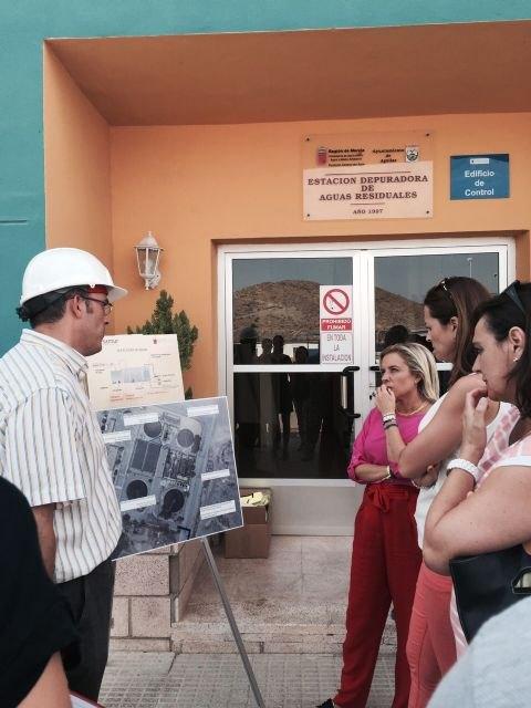 Las obras de ampliación de la EDAR de Águilas estarán terminadas en diciembre - 2, Foto 2