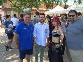 El director general de Juventud y el alcalde de Los Alcázares visitan esta iniciativa, que este año duplica el número de actividades y llega al centenar en dos días