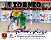 Fútbol playa en las Fiestas Patronales de Las Torres de Cotillas
