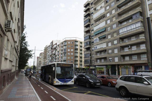 La nueva dársena de autobuses de Capitanes Ripoll ya está en marcha - 1, Foto 1