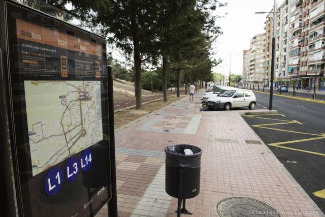 La nueva dársena de autobuses de Capitanes Ripoll ya está en marcha - 4, Foto 4
