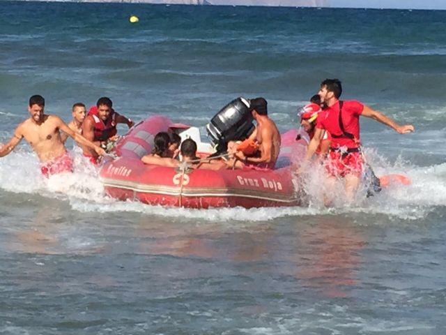 Cruz Roja Española en Águilas rescata a 18 personas este fin de semana - 2, Foto 2
