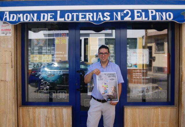 La administración de lotería El Pino lanza el primer décimo de Navidad con realidad aumentada - 1, Foto 1