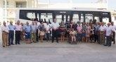 Inaugurado el servicio de transporte a demanda que conecta Torre Pacheco con el Hospital de Los Arcos
