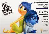 Se retoma la programaci�n del Cine de Verano, en el Auditorio Municipal, con la pel�cula de animaci�n Del rev�s