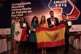 El yeclano Sergio Melero consigue el Subcampeonato del Mundial Universitario de Debate en Español con el Club de Debate de la Universidad de Murcia