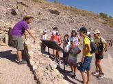 Un total de 11 niños y niñas participan en la Semana de la Prehistoria en La Bastida