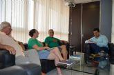 El alcalde se reunió con los representantes de la Plataforma de Afectados por la Hipoteca