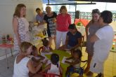 Más de una treintena de menores tutelados por la Comunidad pasan el verano en San Pedro del Pinatar