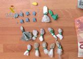 La Guardia Civil sorprende a un joven cuando trasportaba distintos tipos de drogas en San Pedro del Pinatar