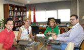 /La consejera de Educación se reúne con la alcaldesa de Archena