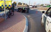 La Guardia Civil auxilia a un ciclista atropellado por un turismo
