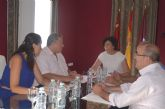 La Alcaldesa de Puerto Lumbreras y el Consejero de Fomento e Infraestructuras acuerdan nuevas actuaciones y proyectos para el municipio