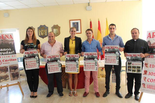 Presentación del cartel de la novillada -picada mixta a beneficio de Cáritas que se realizará en las Fiestas del Polvorín de Archena - 4, Foto 4