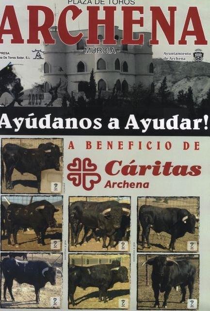 Presentación del cartel de la novillada -picada mixta a beneficio de Cáritas que se realizará en las Fiestas del Polvorín de Archena - 2, Foto 2