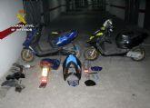 La Guardia Civil desmantela una banda juvenil dedicada a la sustracci�n y modificaci�n de ciclomotores en Totana