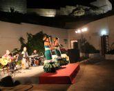 Espectáculo de flamenco en las cuevas del Castillo de Nogalte