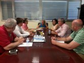 Martínez-Cachá anuncia la próxima  licitación de la redacción de los proyectos de optimización y modernización de la Comunidad de Regantes de Pliego