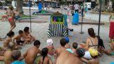 La concejalía de Medio Ambiente lleva un año más su campaña de concienciación a las playas de San Javier
