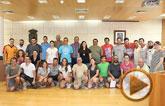 Una treintena de voluntarios han participado en el II Campo de Trabajo Arqueol�gico en el Yacimiento de Las Cabezuelas