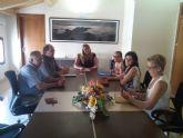 Reunion de CEBAG con la alcadesa de Mazarr�n