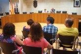 El Gobierno municipal mantiene una ronda de reuniones con representantes de los colectivos profesionales y sociales del municipio de Totana