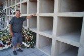 """Finalizan las obras de los 40 nuevos nichos construidos en la nueva zona del Cementerio Municipal """"Nuestra Señora del Carmen"""""""