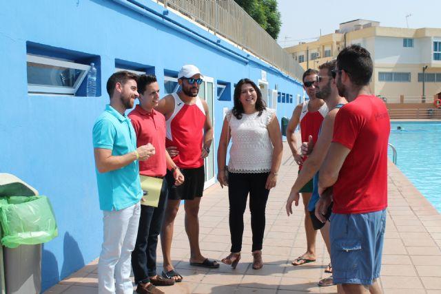 El Director General de Juventud de la Comunidad Autónoma, Francisco Sánchez, visita Archena para conocer a las Asociaciones Juveniles del municipio - 2, Foto 2