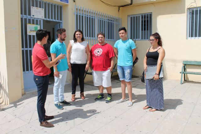 El Director General de Juventud de la Comunidad Autónoma, Francisco Sánchez, visita Archena para conocer a las Asociaciones Juveniles del municipio - 3, Foto 3