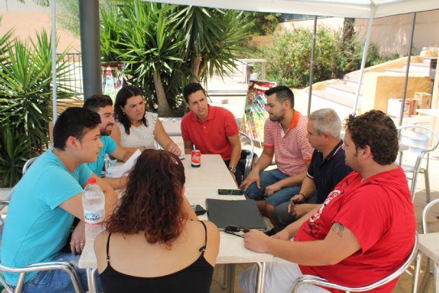 El Director General de Juventud de la Comunidad Autónoma, Francisco Sánchez, visita Archena para conocer a las Asociaciones Juveniles del municipio - 4, Foto 4