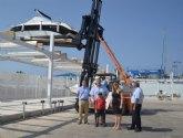 El puerto deportivo de Mazarr�n ampl�a sus instalaciones n�uticas con una marina seca para 60 embarcaciones