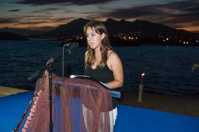 Buena acogida del primer recital de poesía Mar de Letras - 2, Foto 2