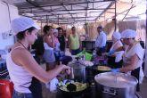 La consejera Noelia Arroyo visita el Parque de las Peñas Huertanas de la XLIV Semana Internacional de la Huerta y el Mar