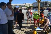 San Pedro del Pinatar mejora la accesibilidad en las playas de la mano de FAMDIF