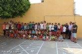Un total de 103 familias con 138 menores se han beneficiado de las Escuelas de Verano, dentro del programa 'Totana Verano´2015'