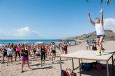 M�sica y deporte a orillas del mar en las fiestas de Percheles