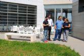 El director general de Juventud visita las instalaciones del albergue de San Pedro del Pinatar