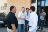 El alcalde y el concejal de Deportes se abonan al Cartagena Fútbol Sala