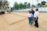 Visita de obras municipales en Los Nietos