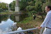 El Ayuntamiento multiplica los trabajos en parques y jardines durante los meses estivales