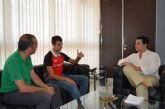 Lorenzo Albaladejo prepara entre San Javier y Murcia su participación en el Mundial que se celebra en Doha, Qatar a finales de octubre
