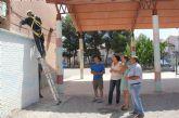 El Ayuntamiento de Puerto Lumbreras realiza obras de acondicionamiento y mejora en los colegios del municipio durante los meses de verano