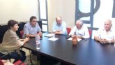 Cebag se reune con el diputado regional Martinez Baños