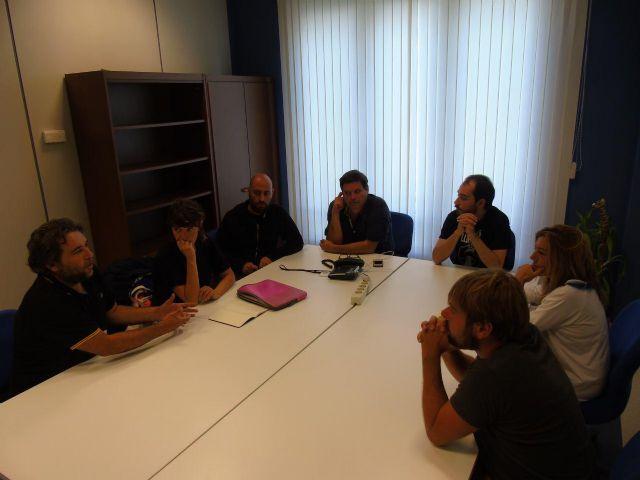 Diputados de Podemos Región de Murcia y Podemos Asturias se reunen para hablar del pacto social del agua y de la reforma de la ley electoral - 1, Foto 1