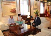 La Alcaldesa de Puerto Lumbreras se reúne con el Presidente para analizar nuevos proyectos que potencien el desarrollo del municipio